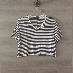 Zara Boxy Crop Top
